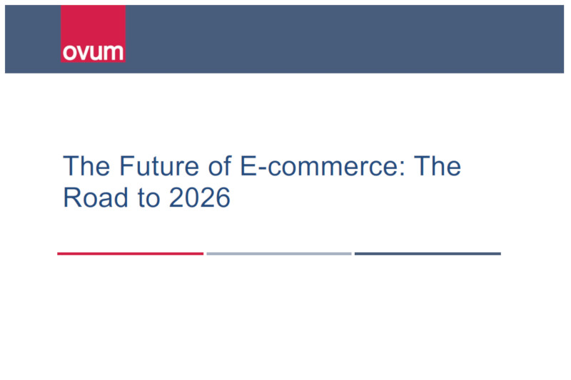 Ovum The Future Of E-Commerce